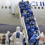 回家了!武漢第二批包機旅客解除隔離 出關大讚陳時中「新鋼鐵人」