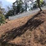 石碇獅仔頭坑道路修復完成 眺望千島湖更安全