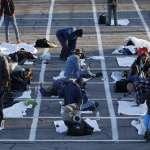 疫情下的美國:停車格成為避難「安樂窩」 拉斯維加斯街友為保持「社交疏離」睡在露天停車場!