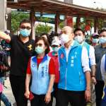 新冠肺炎》「自己的高雄自己保護」 韓國瑜視察確診官兵活動點防疫狀況