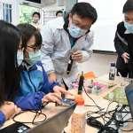 新北成立首間高中程式教育體驗中心 學生創作設計力大爆發