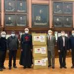 台灣與教廷合力協助非洲抗疫:先援贈10萬片口罩