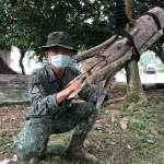 山林裡的奇襲 陸軍特指部「露一手」,用竹子樹枝發動奇襲滅敵軍