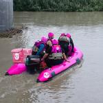 投縣消防局也有foodpanda 救災速度要求快又安全
