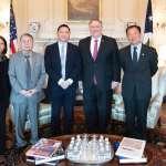 北京又要氣噗噗!六四天安門事件31週年前夕,美國務卿龐畢歐接見王丹