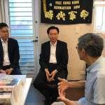 林飛帆陪同再訪銅鑼灣書店 吳釗燮:面對中國壓迫,台灣會盡力而為
