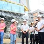 瑞芳圖書館7月竣工全齡共享同樂 侯友宜視察工程進度