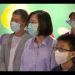 參觀兒童權利特展 蔡英文:台灣要強大,自由、民主、人權很重要