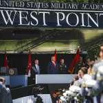 出席西點軍校畢業典禮致詞 美國總統川普避談種族主義問題