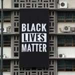 與反種族歧視同陣線!美國駐南韓大使館掛標語:黑人的命也是命