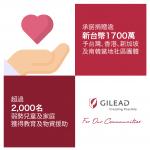 疫情無情來襲 吉立亞援助台灣等四國弱勢團體1700萬元