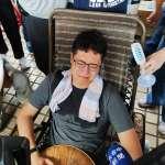 2議員絕食抗議中火重啟2號機 1人暈倒、1人熱衰竭被強制送醫