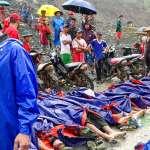 雨中冒險工作,不幸遇上礦場坍方!緬甸玉礦至少113人罹難,仍有失蹤者等待救援