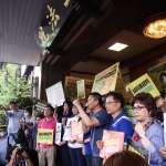 藍委大陣仗「迎接」陳菊 鄭運鵬:立法院變成烙人比拳頭的街頭戰場