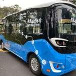 全國第一!   交通局長鍾鳴時:領先全國將智駕電動巴士導入公共運輸系統接駁測試計畫
