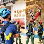 強化本職學能!特戰繩索應用專長班13人結訓 「涼山部隊」也是學員
