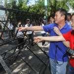 監院人事》立院周邊戒備森嚴!國民黨團嗆「立院戒嚴」:對陳菊的最大羞辱