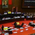 國民黨議場內杯葛陳菊監察院長提名 立院外一路「開講」到周五