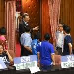 藍委占領議場》國民黨團控動用警察權 立院秘書長林志嘉駁:混淆定義