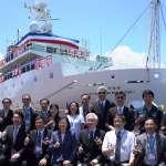 台船新建新海研一號 總統命名