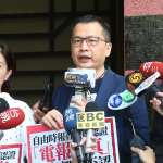 國民黨批公共媒體遭染綠 民進黨反擊:羅智強曾任中央社副社長