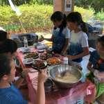 四健會露營登場   學員用有機農產品煮美食   秀野外生活技巧
