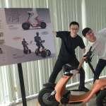 銀髮族專屬騎乘樂 首部結合AI+健身電動車即將河濱奔馳