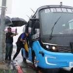 全國第一! 新北智駕電動巴士載客測試啟動