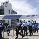 香港《蘋果日報》末路?!兩百警力搜索香港《蘋果日報》總部,黎智英被押至現場協助調查