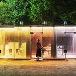 全部看光光! 解密東京「透明公廁」吸睛設計背後玄機,居然有這些妙用