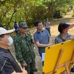 新北觀旅局赴國軍赤土崎軍事坑道實地會勘   八里纜車案工程費需9億