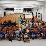 秋野芒劇團跨海演出 金東電影院兒童笑聲滿滿