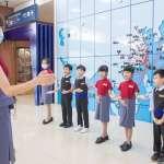 小小空服員高雄起飛 類包機前進南台灣