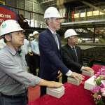 首艘自建全迴旋大型浮吊船Green Jade正式開工  引領台灣離岸風電產業航向新能源時代