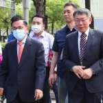 與馬英九同台 陳水扁:市長可以坐下來交流,為什麼朝野、兩岸沒辦法?