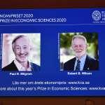 2020諾貝爾經濟學獎》提升拍賣理論及創造新公式 2美國經濟學家抱回殊榮