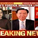 印度電視台專訪吳釗燮 中國駐印使館跳腳:挑戰一個中國底線