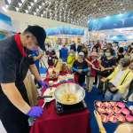 高雄國際食品展終日抽出50吋液晶電視 引爆人潮最高峰