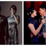 國軍同婚首曝光!同志新人深情對望 甜蜜婚紗照閃瞎眾人