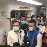 搭「香氛列車」視察藍海線 新三站讓民眾免費搭乘一個月