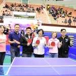 以球會友全國桌球錦標賽彰化開打 89個單位參賽