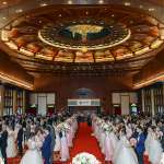 中華電信舉辦浪漫集團婚禮  80對新人編織甜美回憶