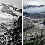 照片記錄冰川百年消退史 科學家警告:阿爾卑斯山冰川世紀末恐成絕響