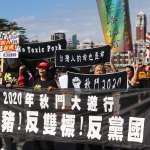 2020「秋鬥」今登場!估破萬人上凱道 國民黨、新黨、民眾黨在列