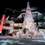 昕諾飛Philips Hue打造新光三越高質感耶誕樹 千萬色彩繽紛信義區