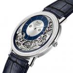Piaget 超薄自動腕錶 Altiplano 910P 換新裝,以夜藍交織鑽芒呈現年末鉅作