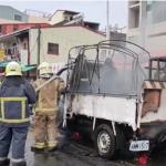 台南廟會煙火貨車起火!6大人及時跳車逃生,8歲女童獨留車上成焦屍