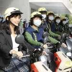 高雄市環保騎士隊今日成軍 公私協力改善車輛空氣污染