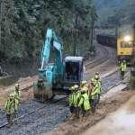 台鐵宜蘭線終於搶通!採單線雙向通車 今晨迎接「首班車」
