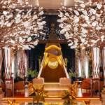 伯爵與杜拜文華東方酒店一同歡慶耶誕 六尺高聳非凡耶誕樹 在金色國度展現燦金風采